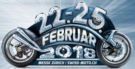Swiss Motorrad Messe 22.-25. Feb. 2018